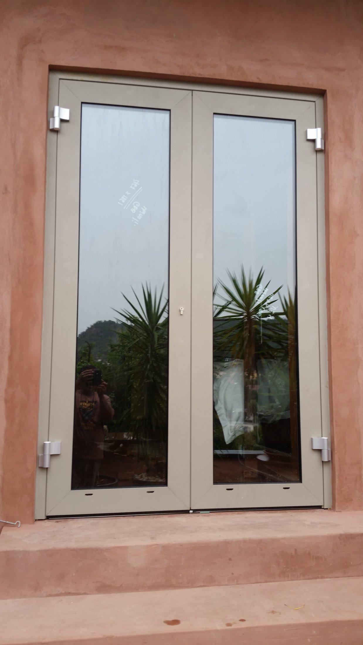 Out Opening Door