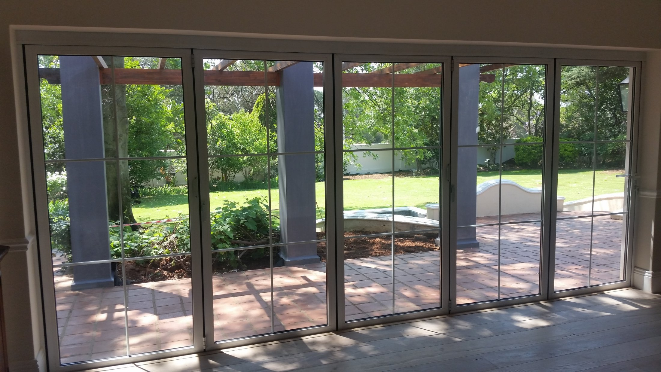 Cottage Style Stacking Folding Door