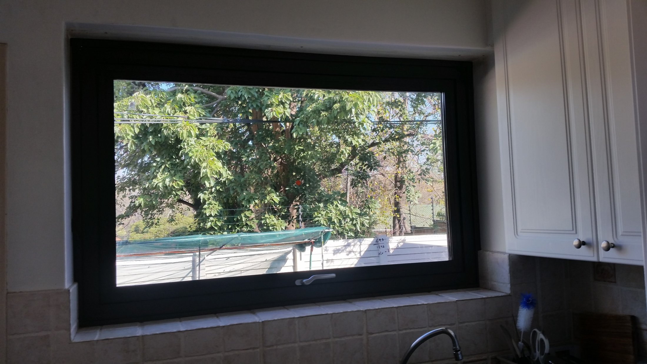 Out Opening Double Glazed Window