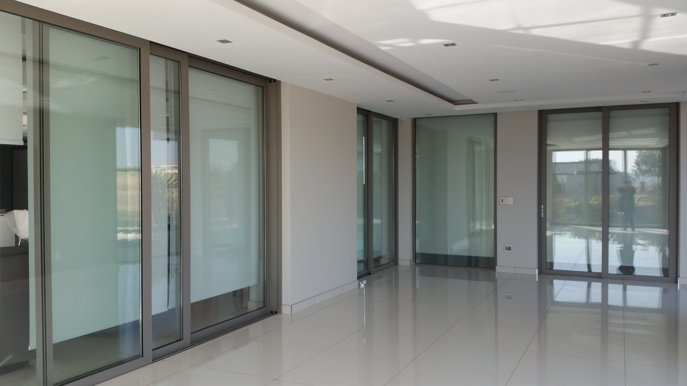 Internal Double Glazed Sliding Cavity Doors : Serengety Estate