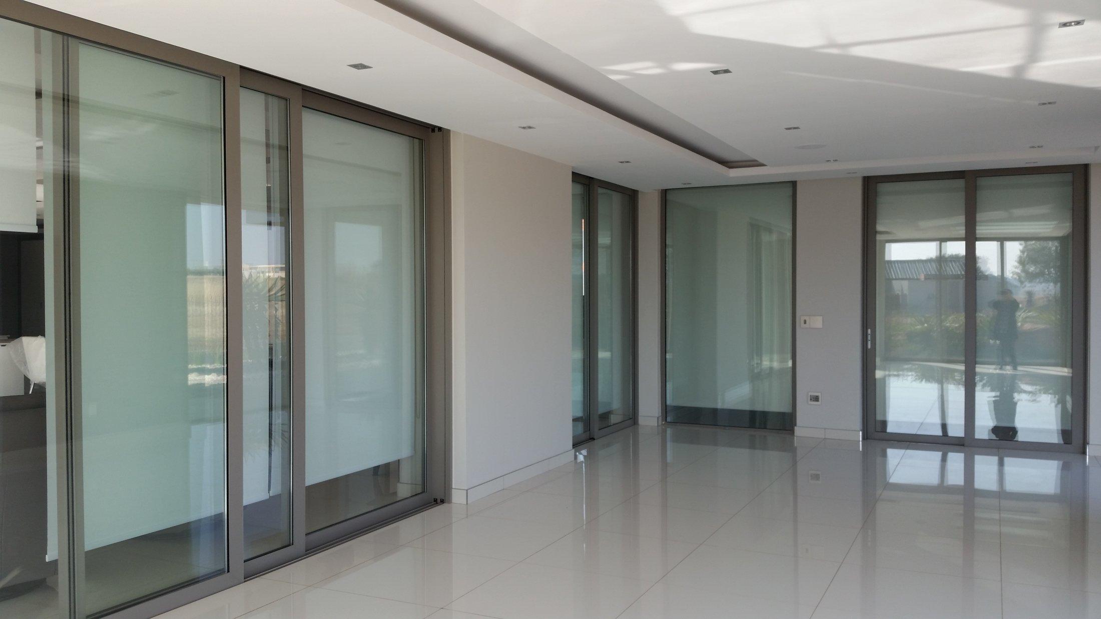Internal Double Glazed Sliding Cavity Doors : Serengety Estate