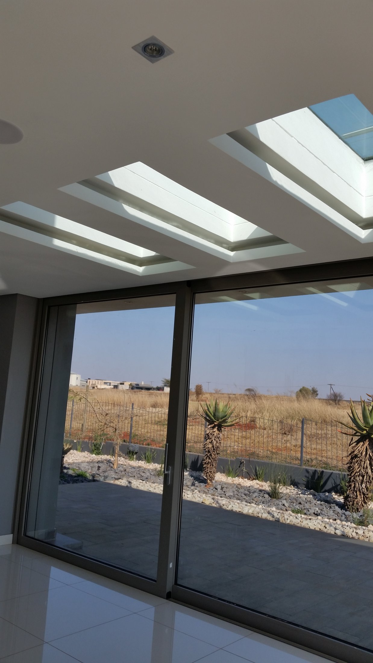 Sky Lights Double Glazed Bullet Proof Glass : Serengety Estate
