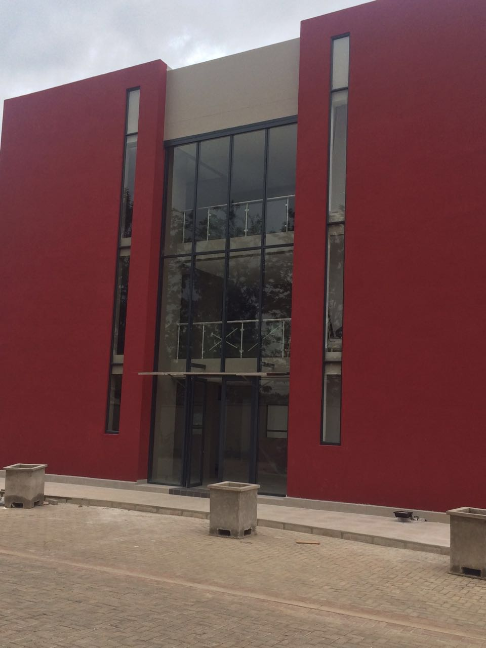 Project Rwanda : Double Glazed Fixed Panels