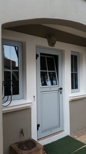 Kitched Door With Tilt & Turn Window. Project Wood Hill Estate
