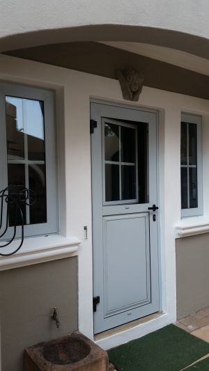 Kitchen Door with Tilt & Turn window. Project WoodHill Estate.