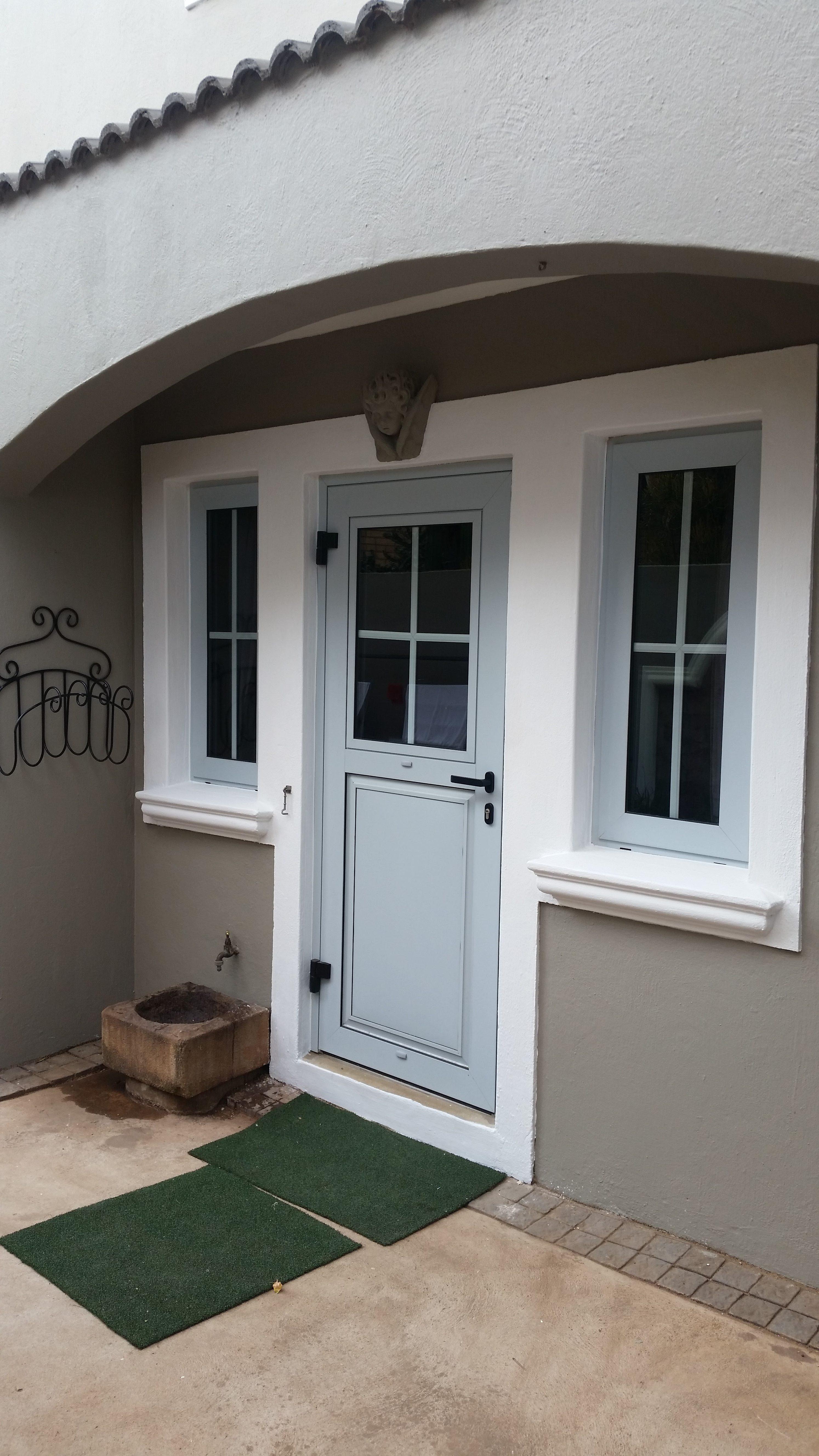 Kitchen Door with Tilt & Turn window. Project WoodHill Estate.
