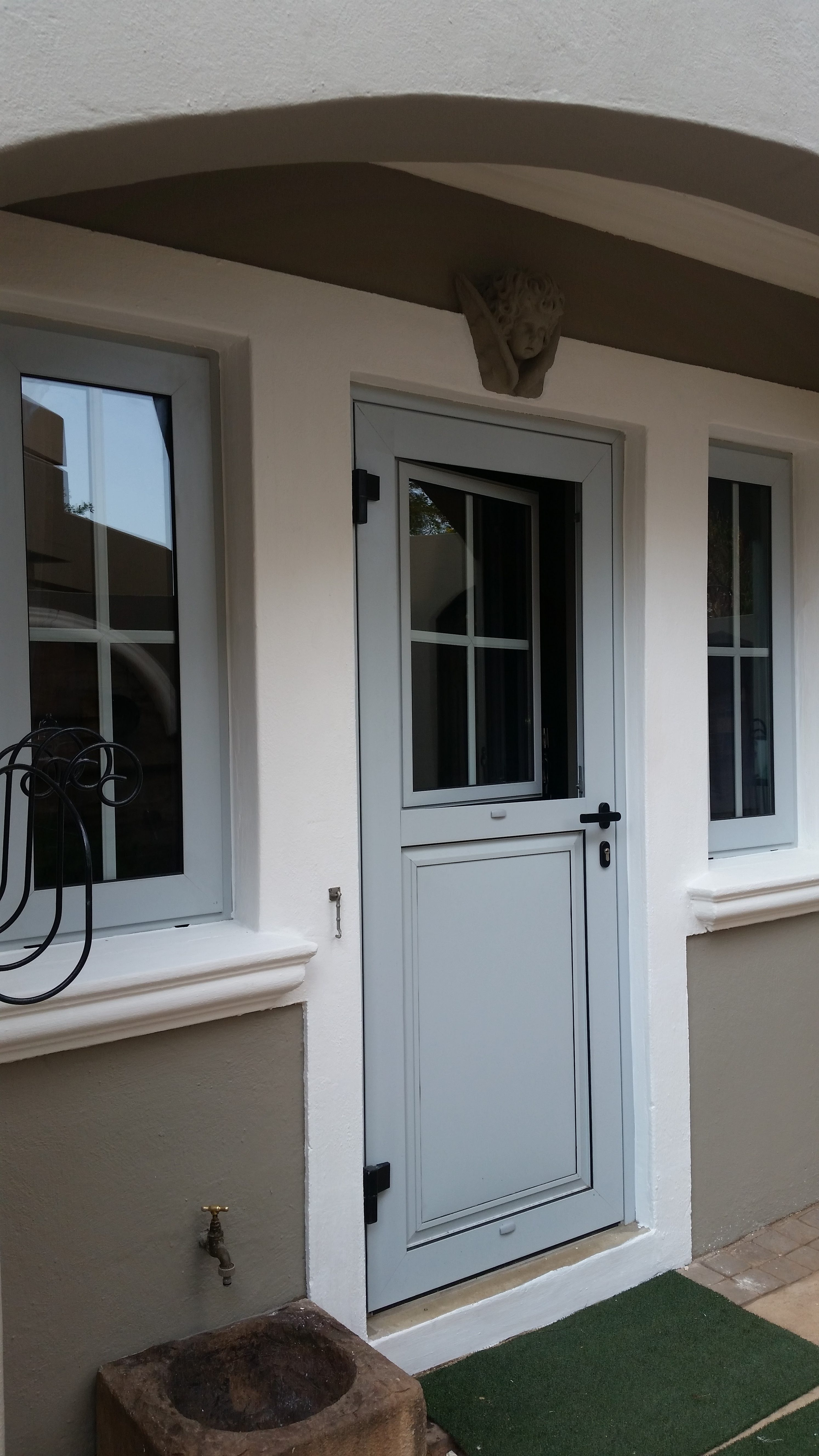 Kitchen Door with Tilt&Turn window. Project WoodHill Estate.